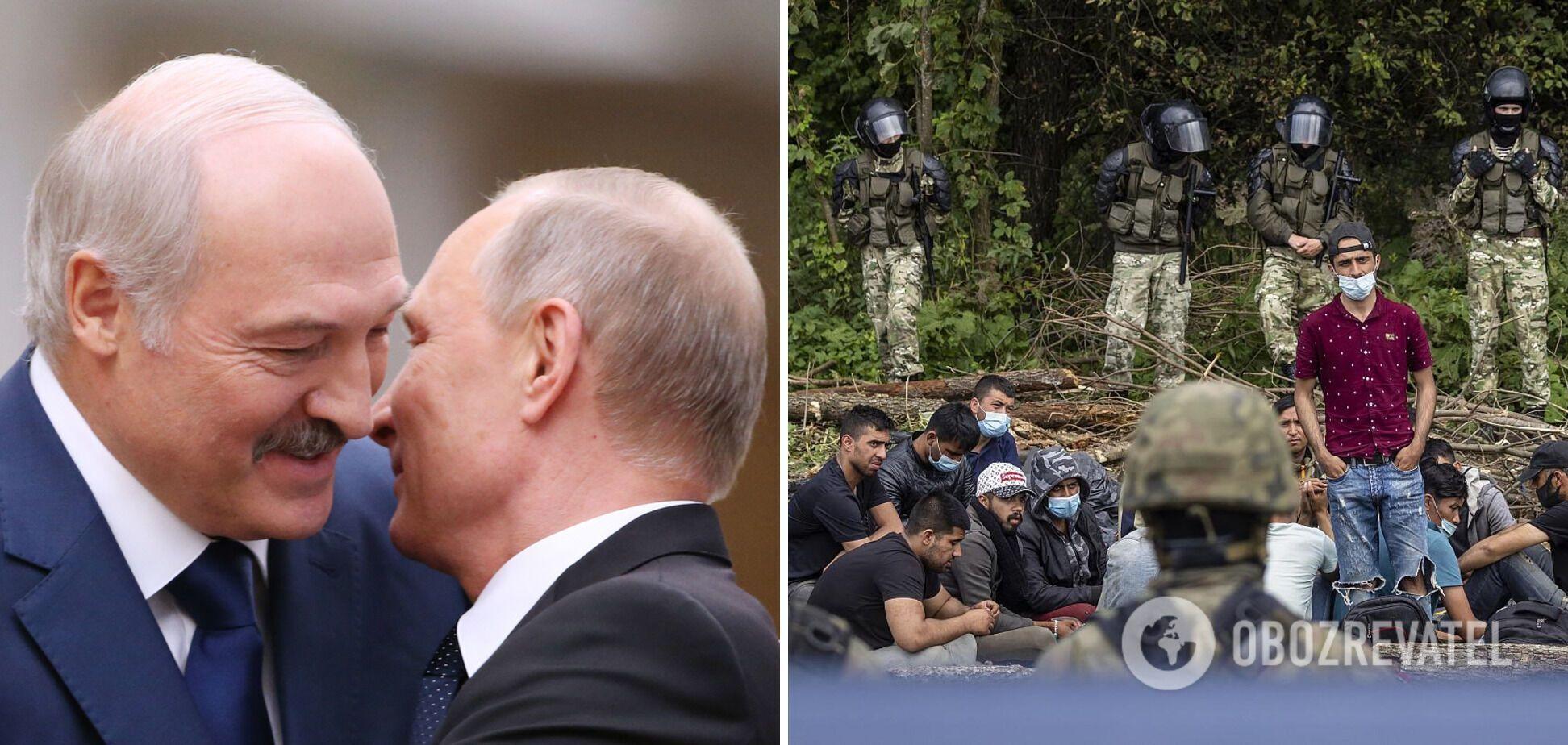 Нашествие мигрантов: путинская Ерефия усиливает давление на Европу