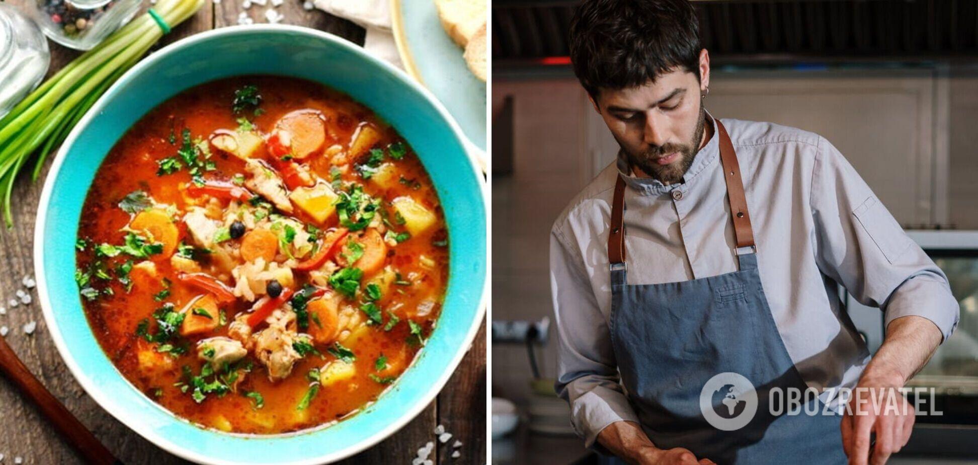 Знаменитый грузинский суп харчо: какое мясо нужно добавлять в блюдо