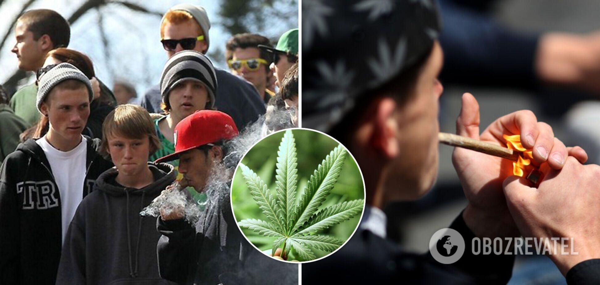 Впливає на мозок підлітків і провокує суїцидні настрої – у США почали переглядати ставлення до легалізації марихуани