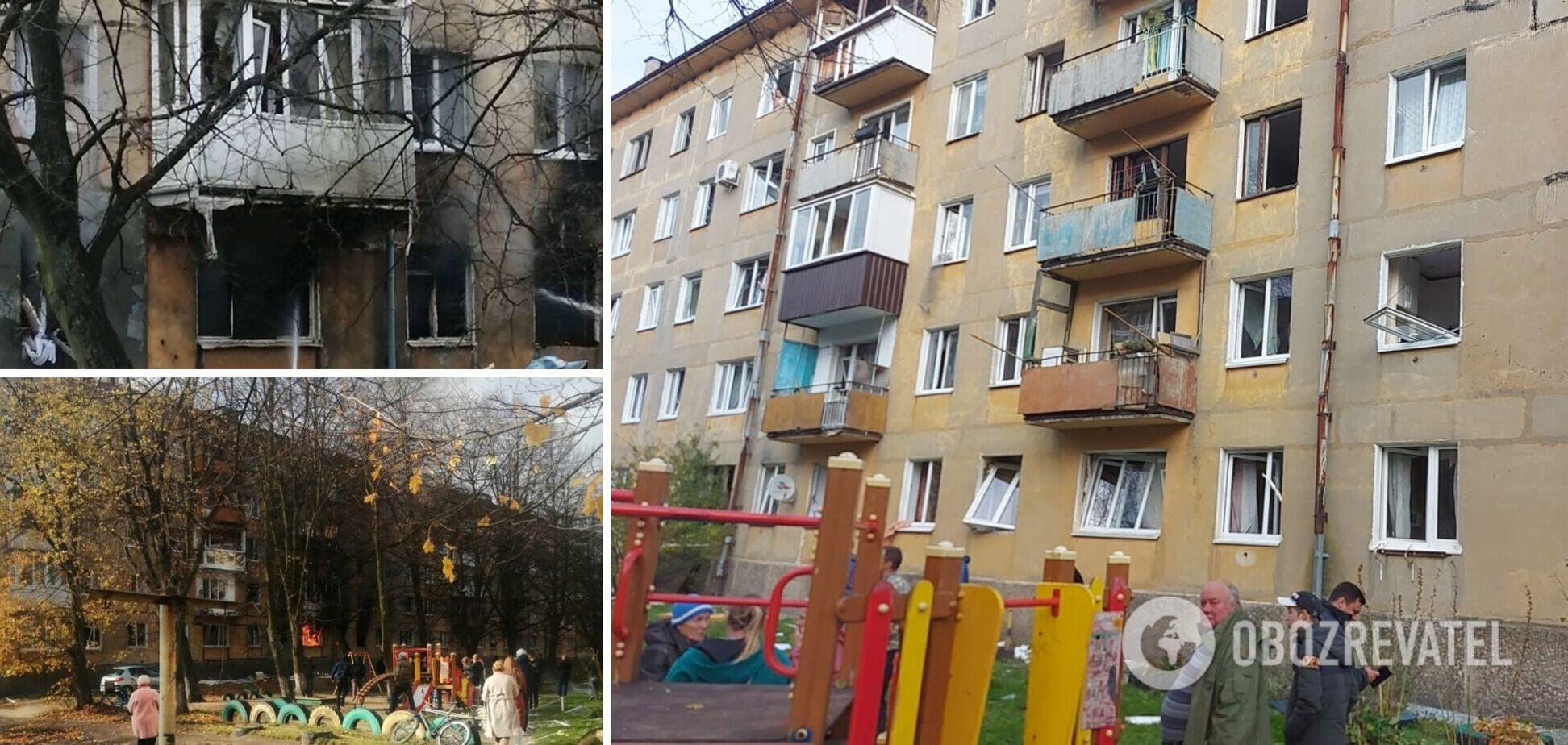 Люди стрибали з вікон, рятуючи дітей: у Росії прогримів потужний вибух у будинку. Фото і відео