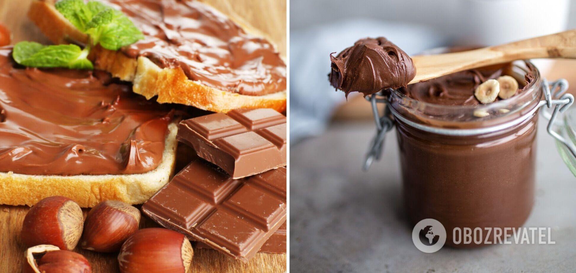 Ідеальна нутелла вдома: рецепт шоколадної пасти