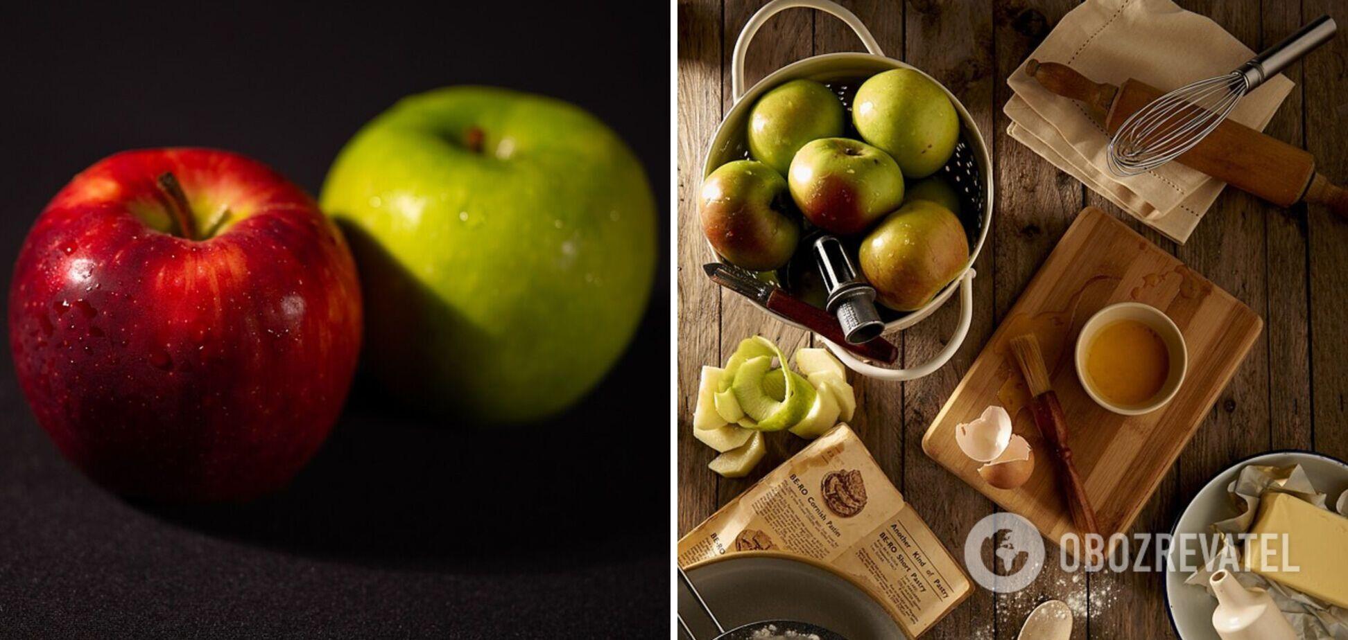 Які яблука корисніші – зелені чи червоні: експерт розвіяв міфи