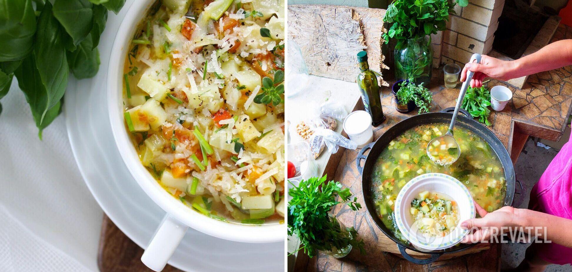 Як приготувати суп мінестроне: секретний інгредієнт та особливості