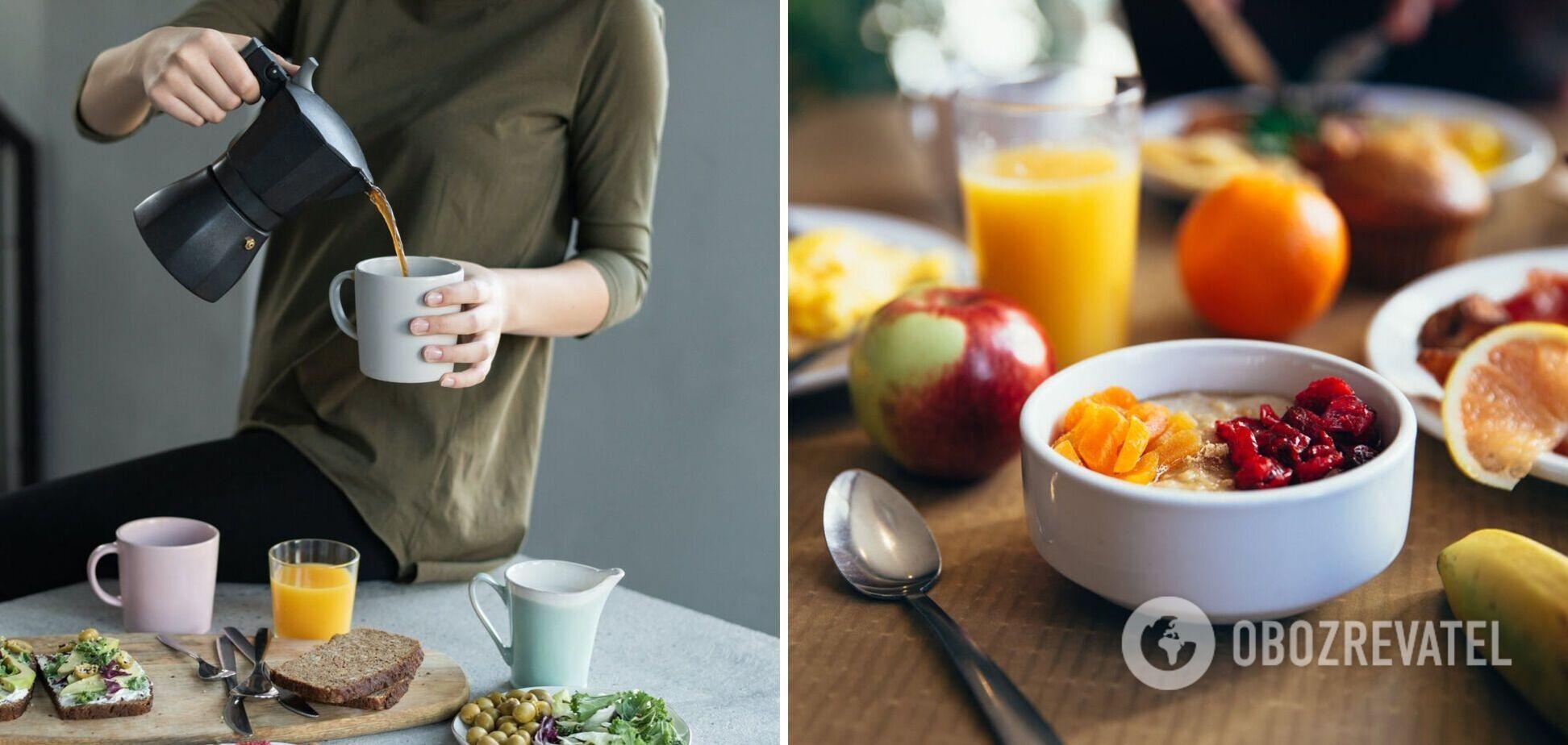 Что нельзя есть на завтрак