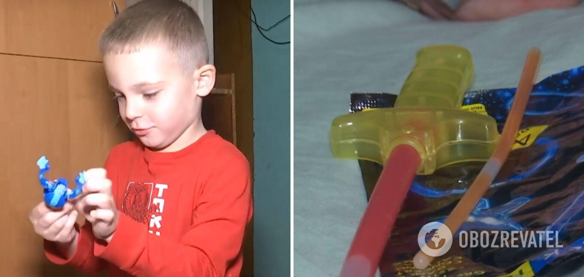 Хлопчик мало не помер через іграшку