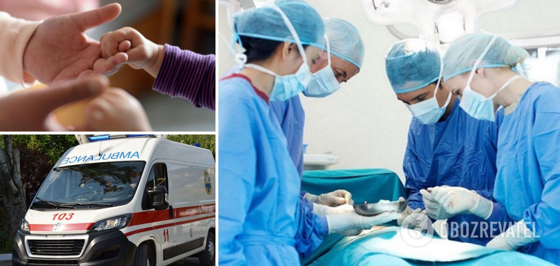 На Львівщині дворічна дівчинка засунула руку до м'ясорубки: лікарям довелося провести ампутацію пальців
