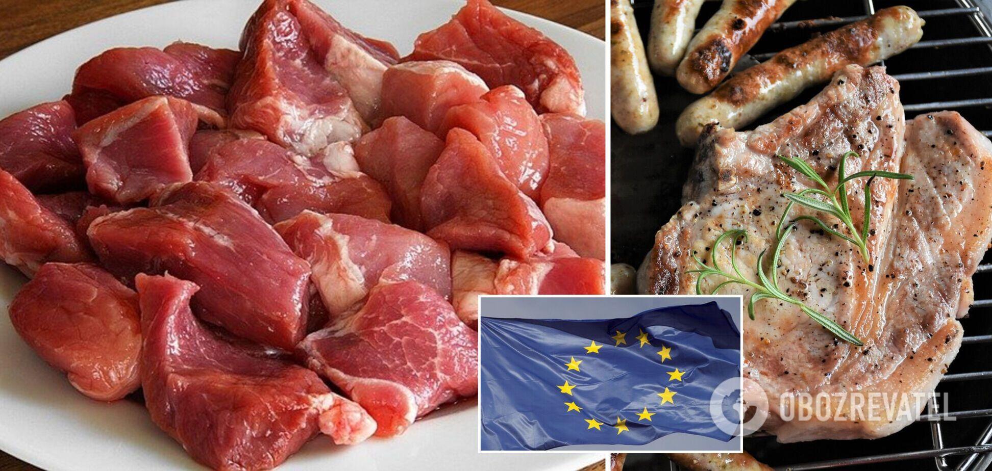 Україна збільшила експорт свинини
