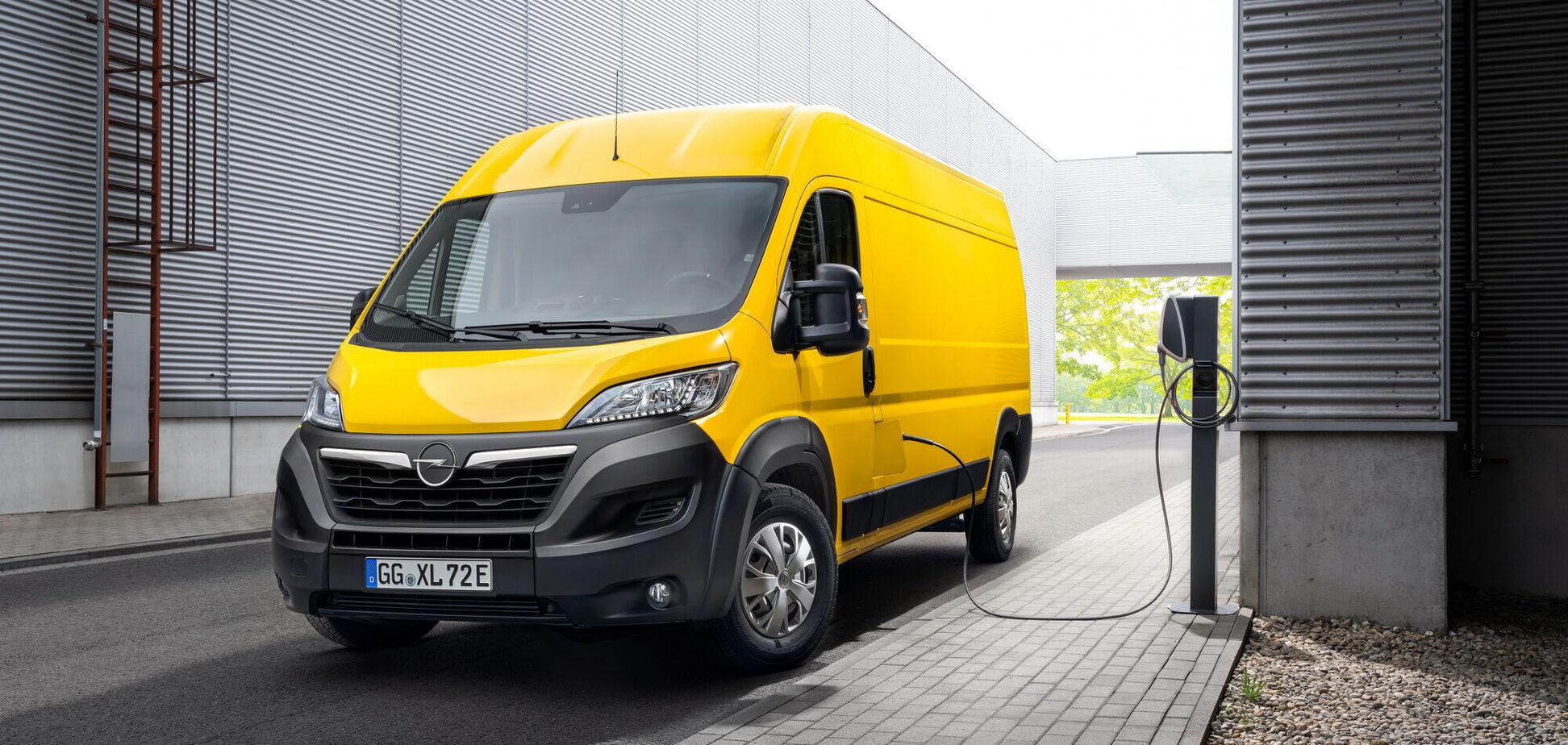 У Європі стартував продаж Opel Movano нового покоління