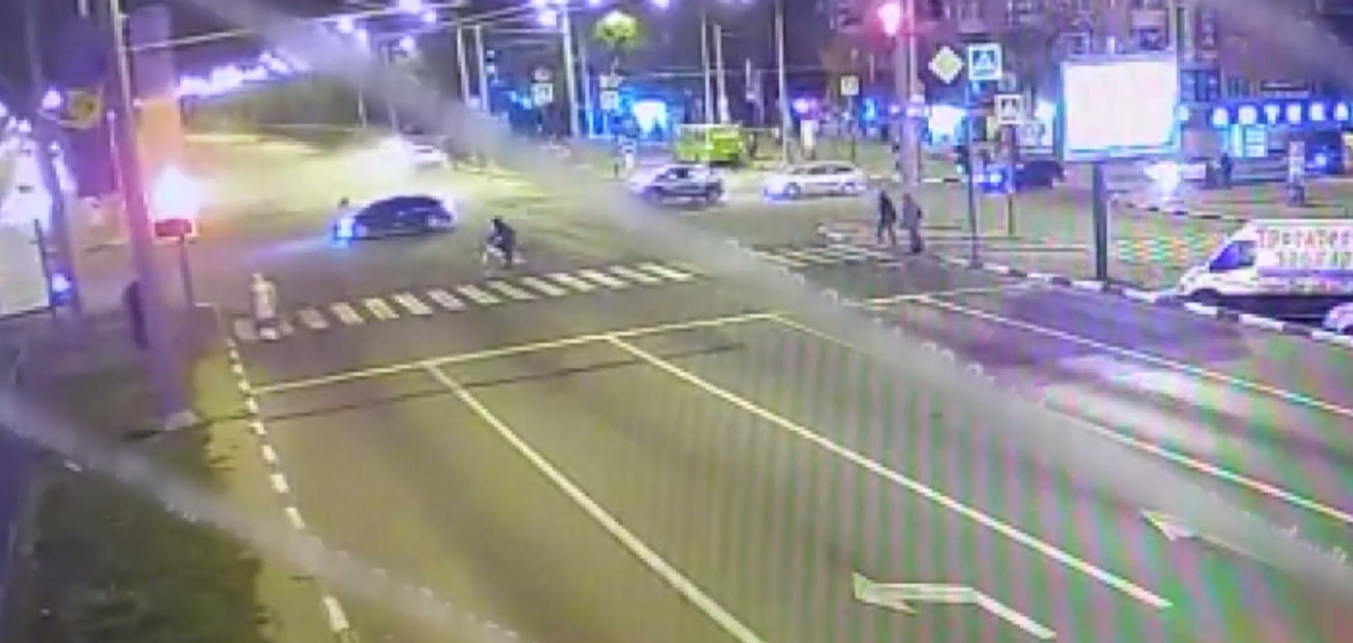 Авария на скорости Гагарина-Одесская
