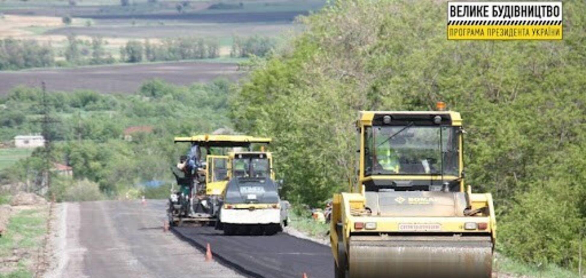 У Вінницькій області вперше за 48 років ремонтується траса Р-17