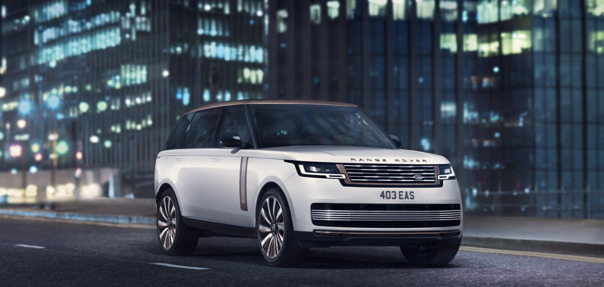Range Rover п'ятого покоління представили у Великій Британії