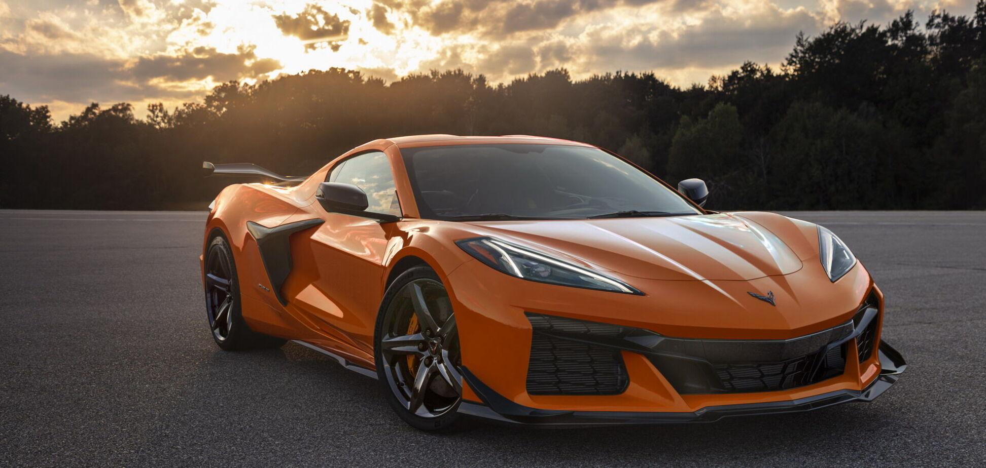 Chevrolet представив 'заряджену' версію Corvette