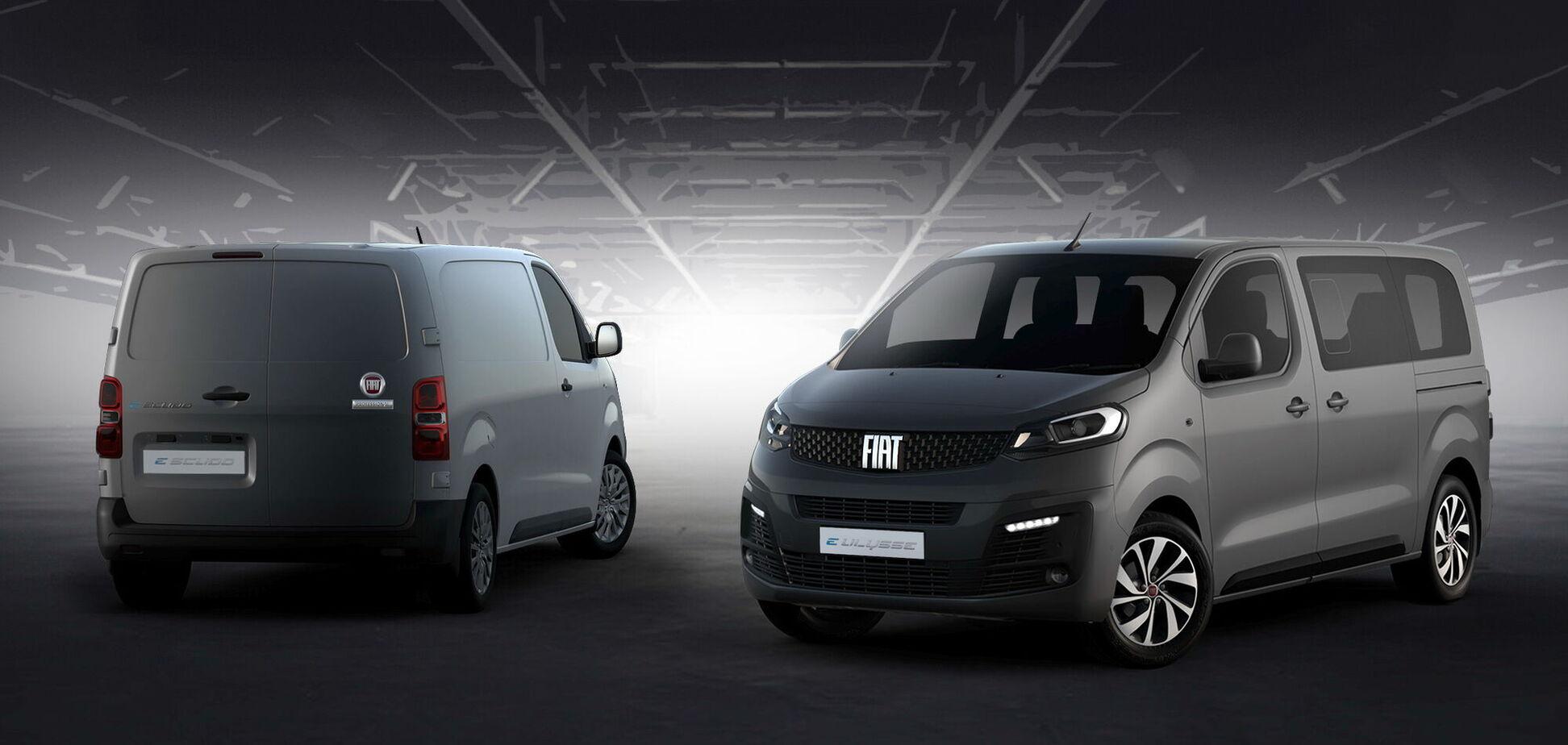 FIAT представив оновлену родину легких комерційних моделей