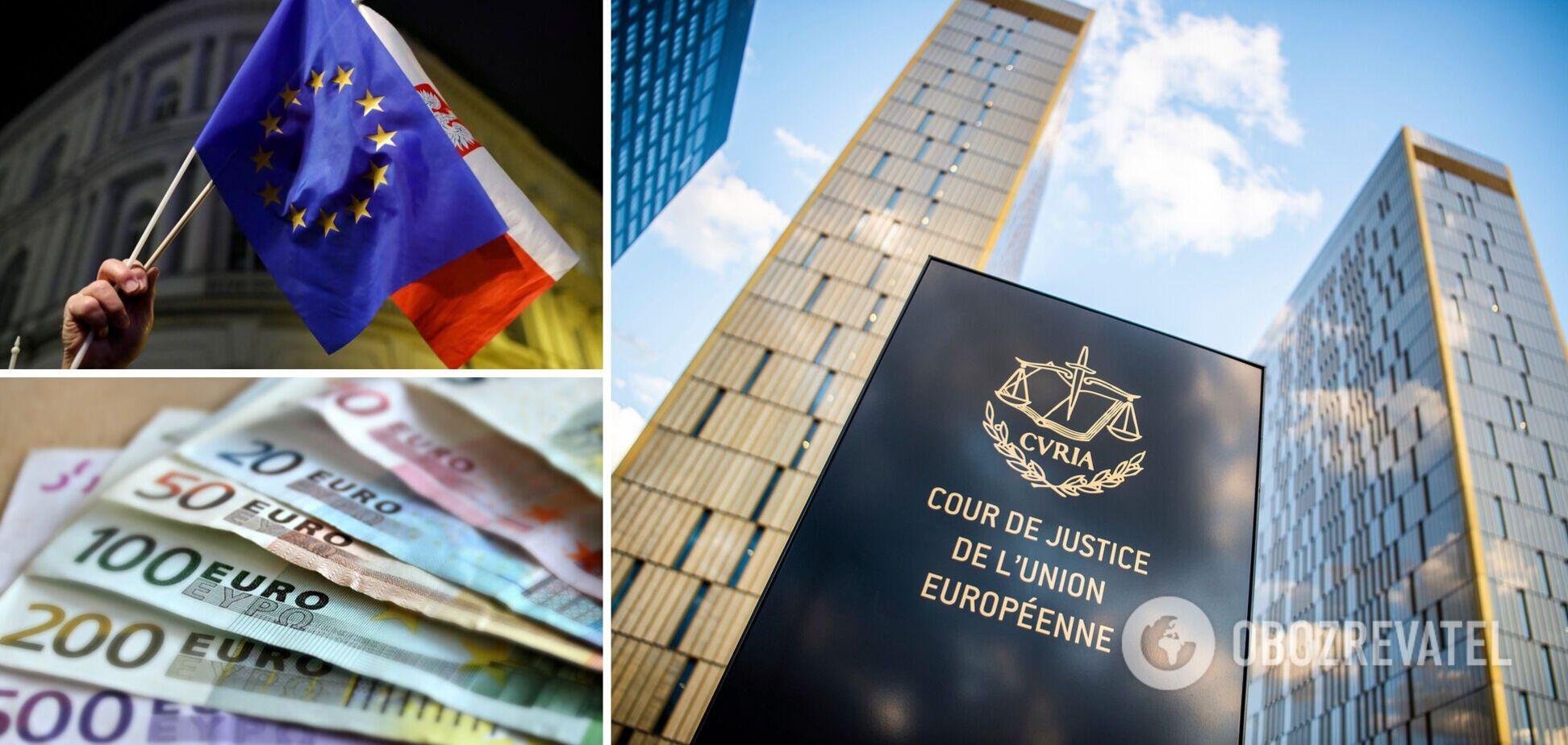 Суд ЕС распорядился штрафовать Польшу на 1 млн евро в день