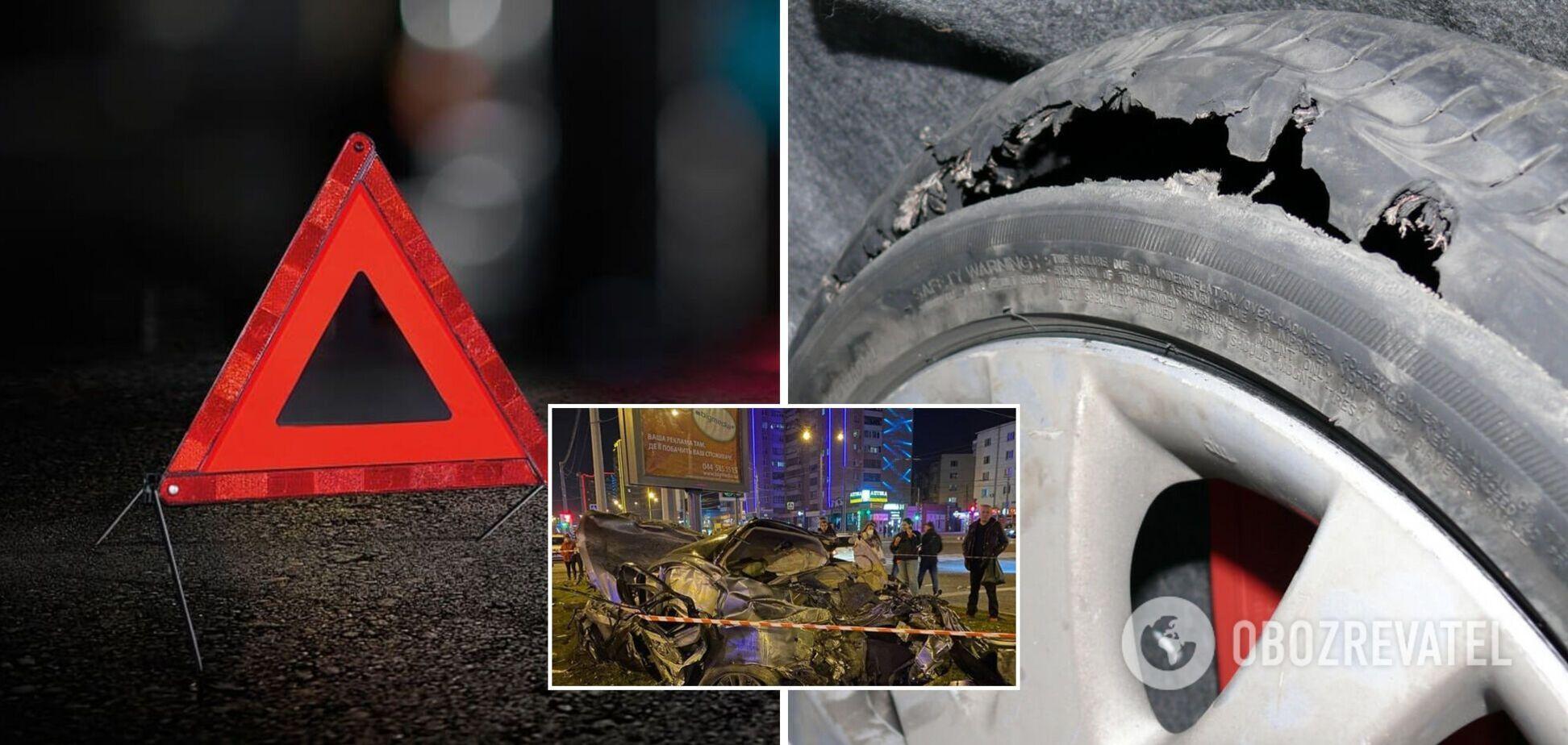 Проклята дорога: у Харкові на місці смертельної аварії з Infiniti трапилася нова ДТП. Відео