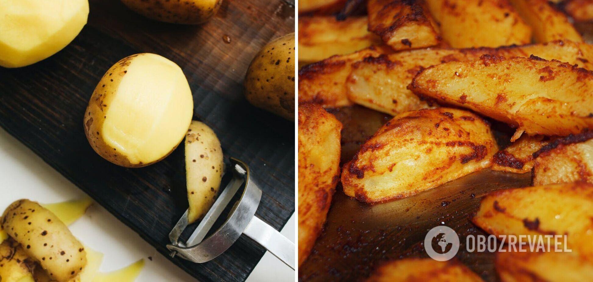 Для чого замочувати картоплю в крижаній воді перед приготуванням: простий лайфхак