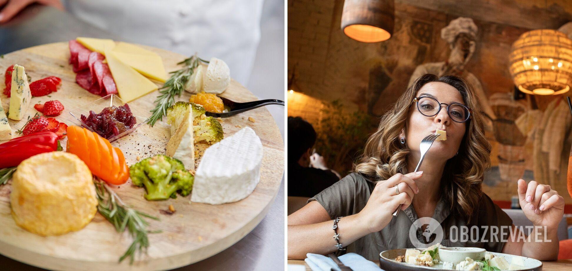 Не жалейте сыра для французской тарелки!