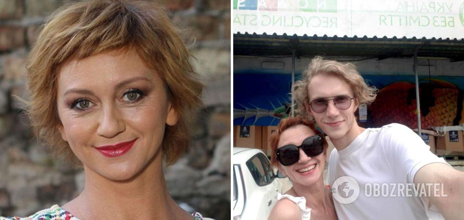 Актриса Зюбина попала в ДТП: водитель угрожал 'набить морду' ее сыну. Фото и видео