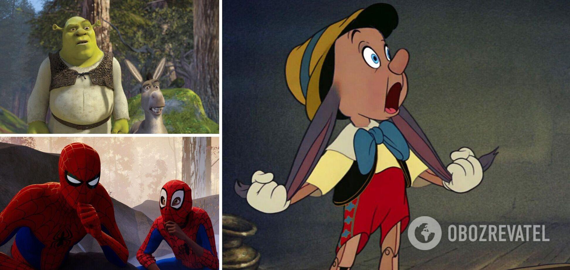 Анимационные мультфильмы наградили премией 'Оскар'