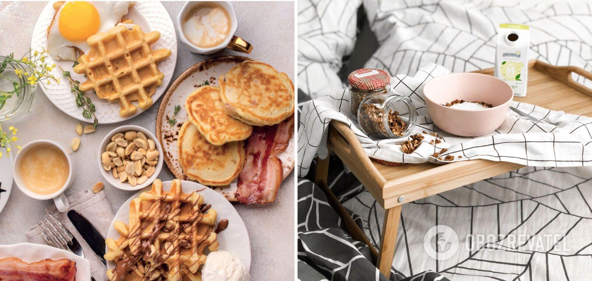 Ідеї небанальних солодких сніданків: 2 простих варіанти