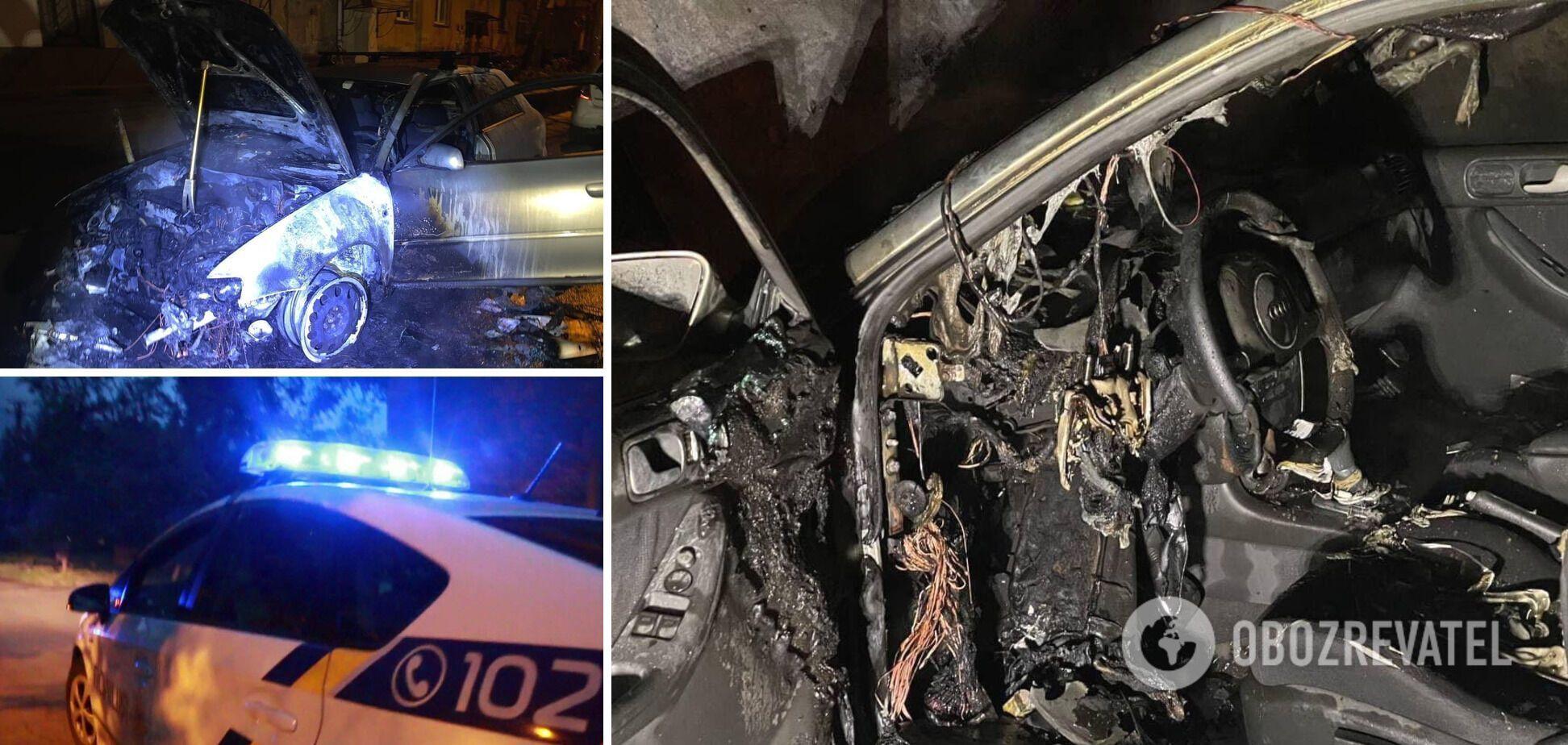 У Рівному спалили авто підприємця, справою зайнялася поліція. Фото
