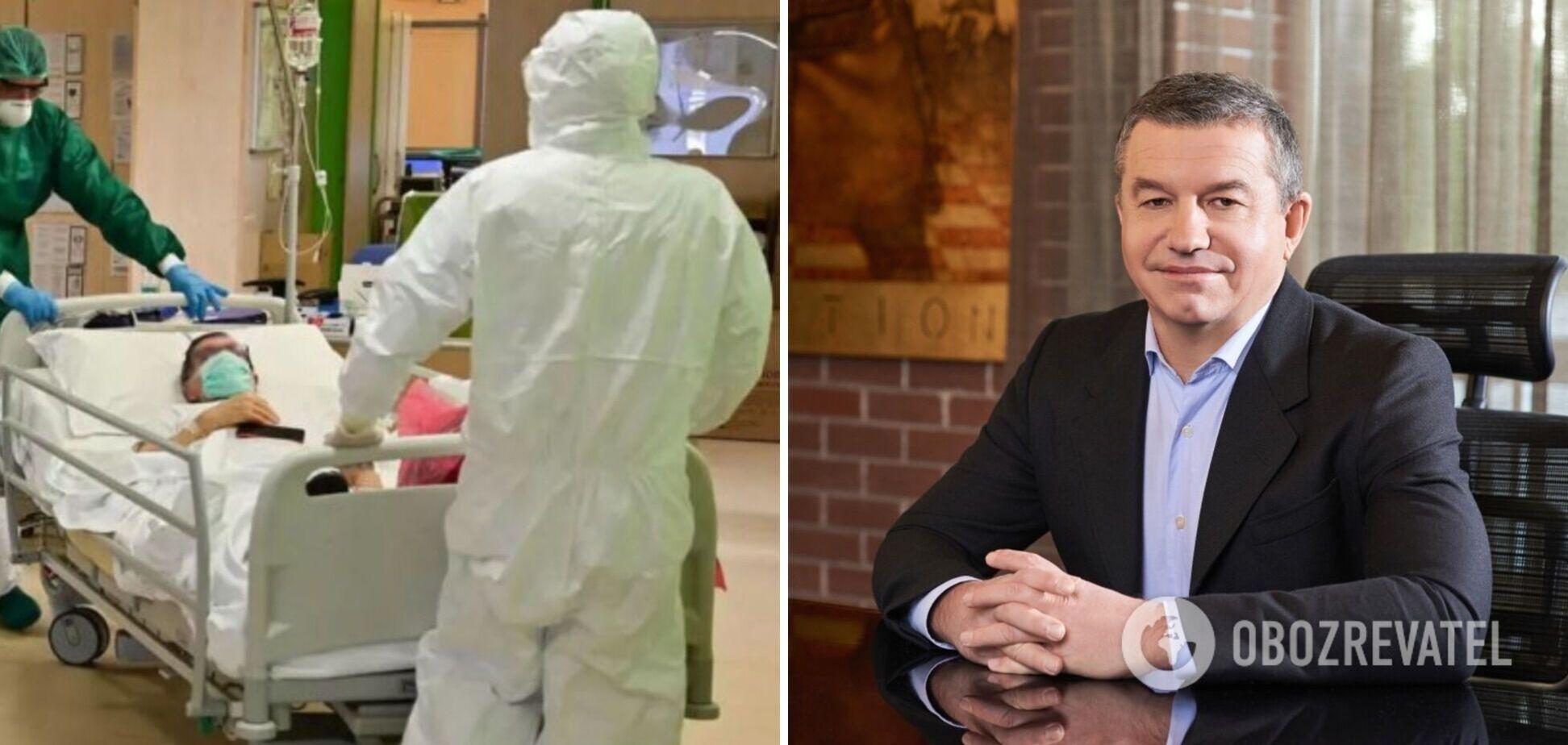 Відомий український бізнесмен захворів на COVID-19: він не був вакцинований