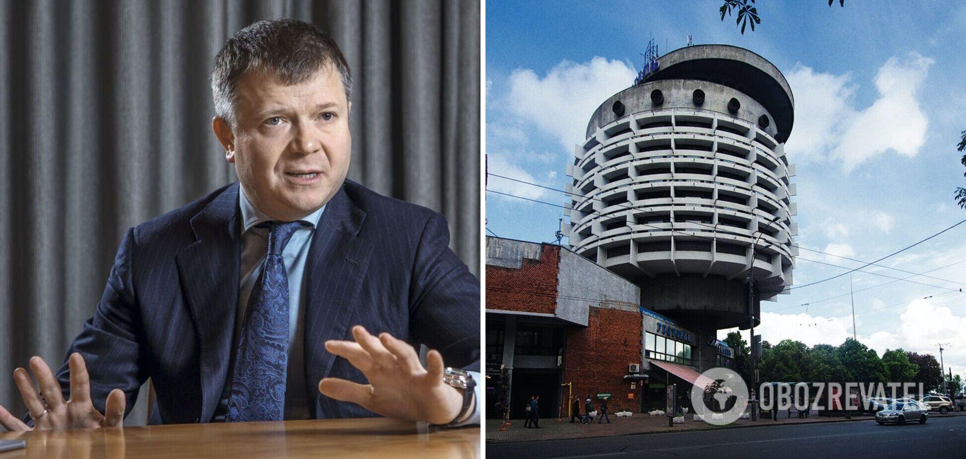 У Костянтина Жеваго відсудили готель 'Салют'