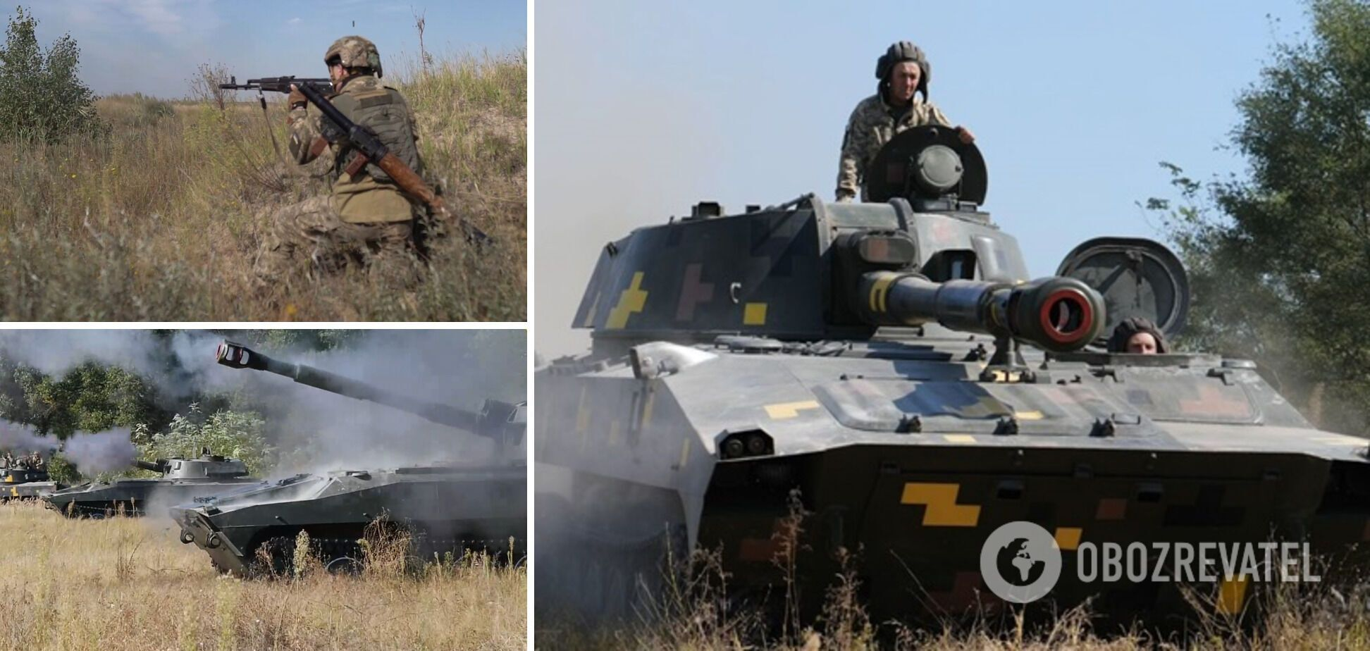 Військові відпрацювали знищення десанту супротивника