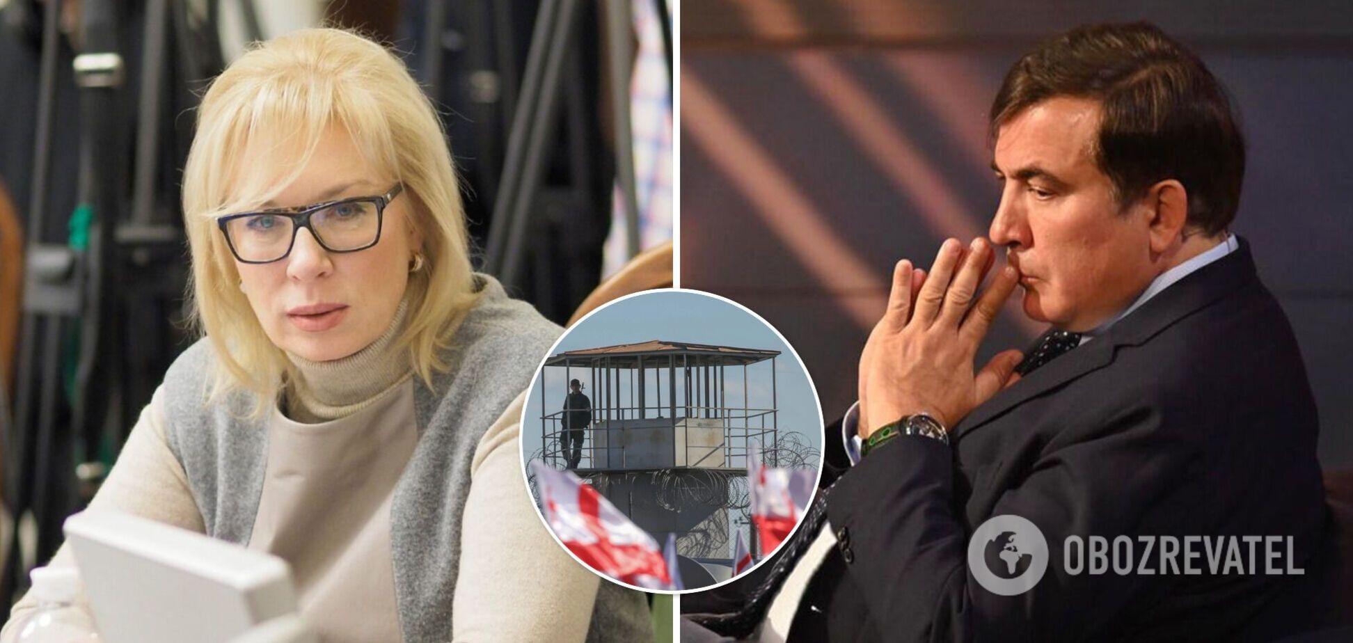 Денісова – про стан Саакашвілі: його двічі реанімували, він відмовився від тюремної медичної допомоги. Відео