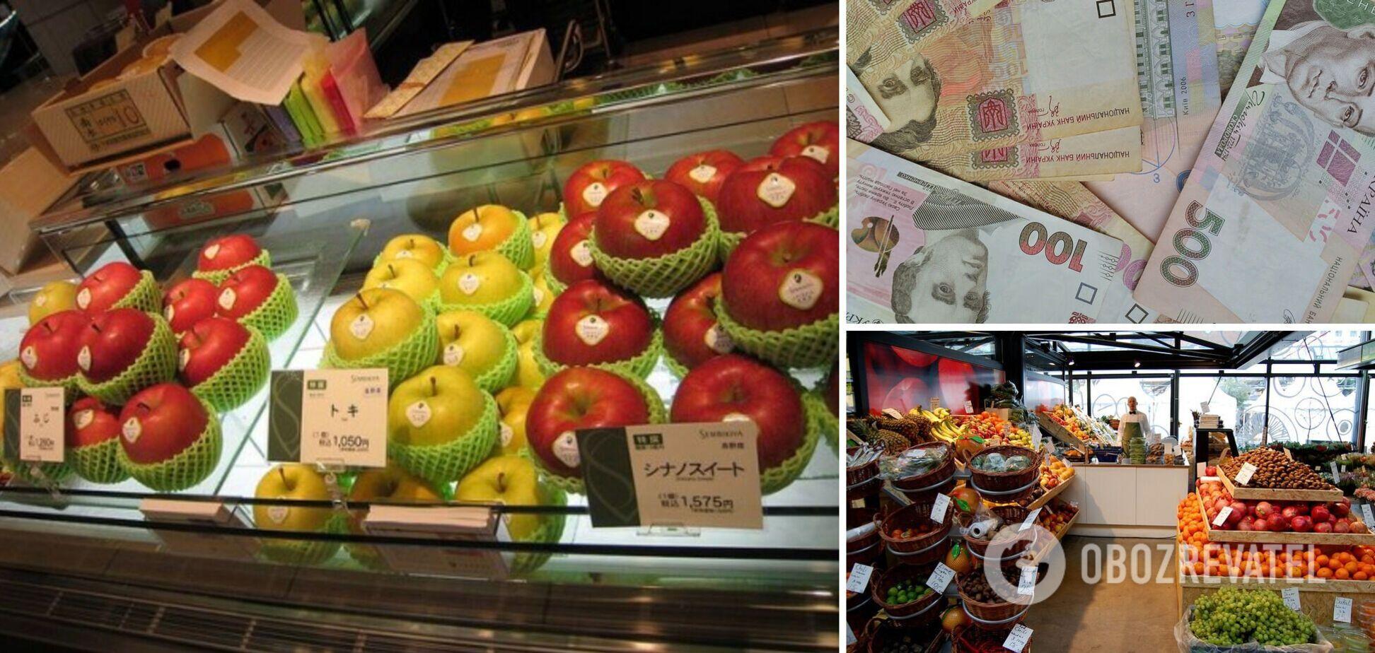 Найдорожчі фрукти продаються в Токіо