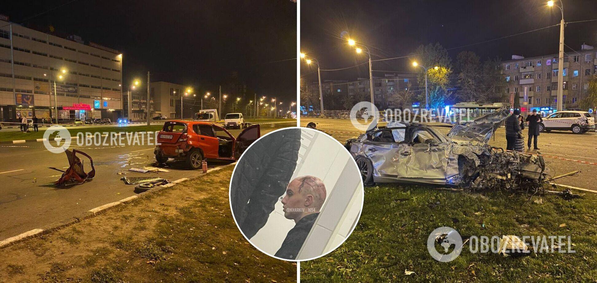 В сознании и ходит самостоятельно: появились фото виновника смертельного ДТП в Харькове