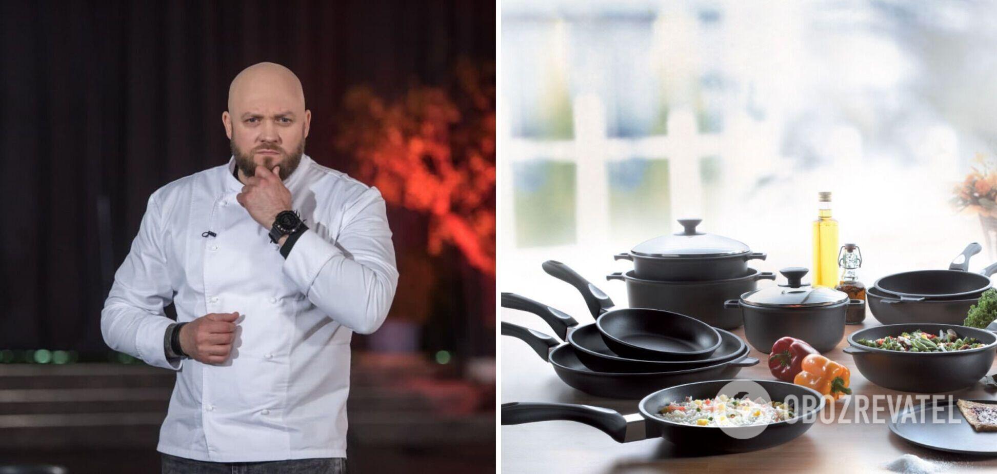 Алекс Якутов розповів, як правильно вибрати гарну сковороду