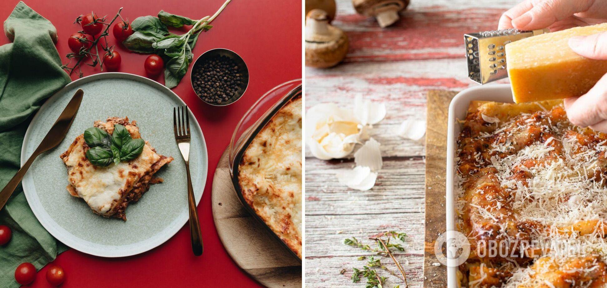 Лінива лазанья: чим замінити традиційне тісто