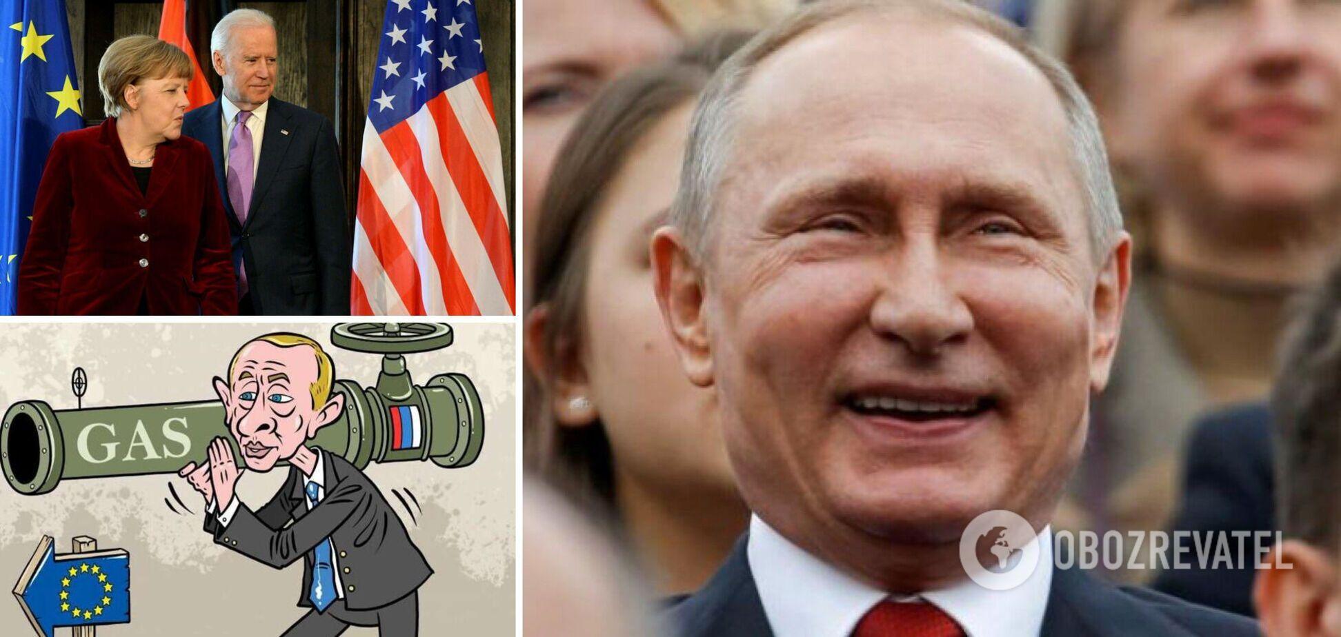 'Холодная зима' 2021-го. 'Газпром' шантажирует, Европа молчит