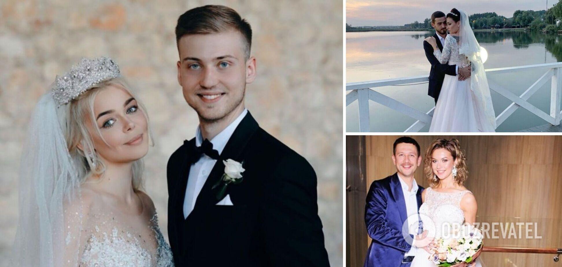 Пробитое колесо, цветы и опоздание: почему свадьбы украинских звезд были на грани срыва