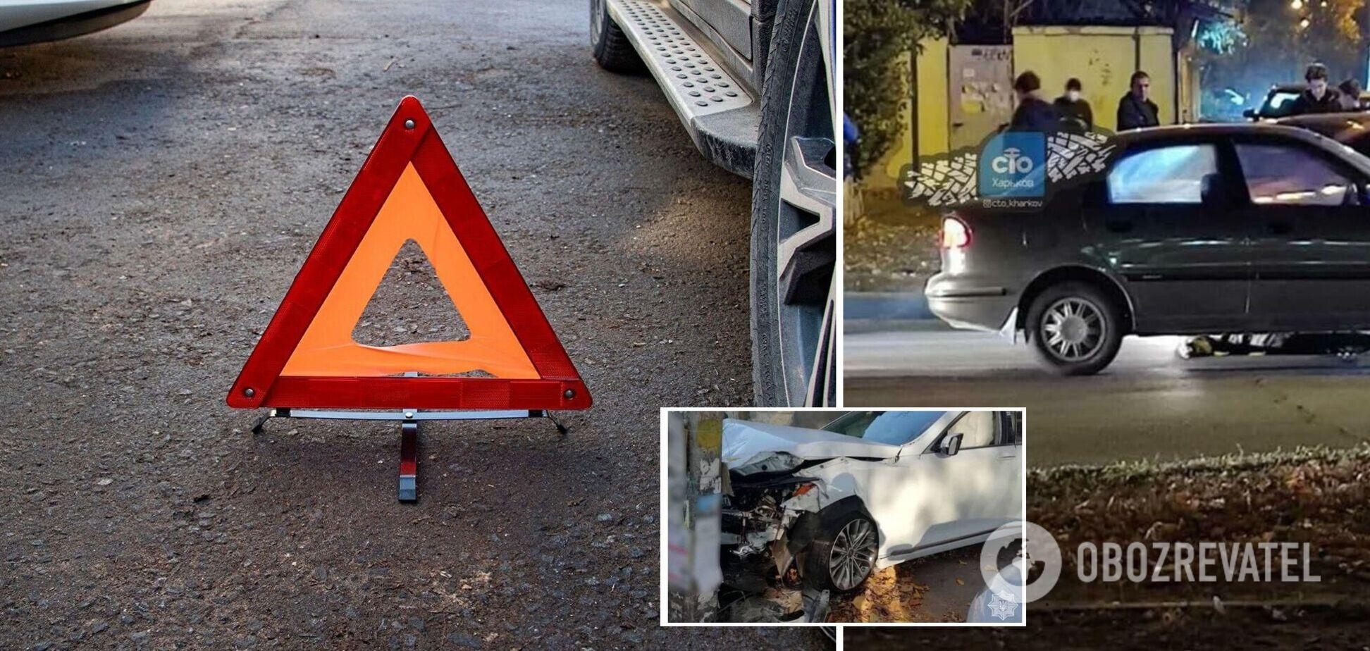 В Броварах авто сбило пешехода, а в Харькове еще одна смерть под колесами Infiniti. Хроника ДТП в Украине на 28 октября. Фото и видео