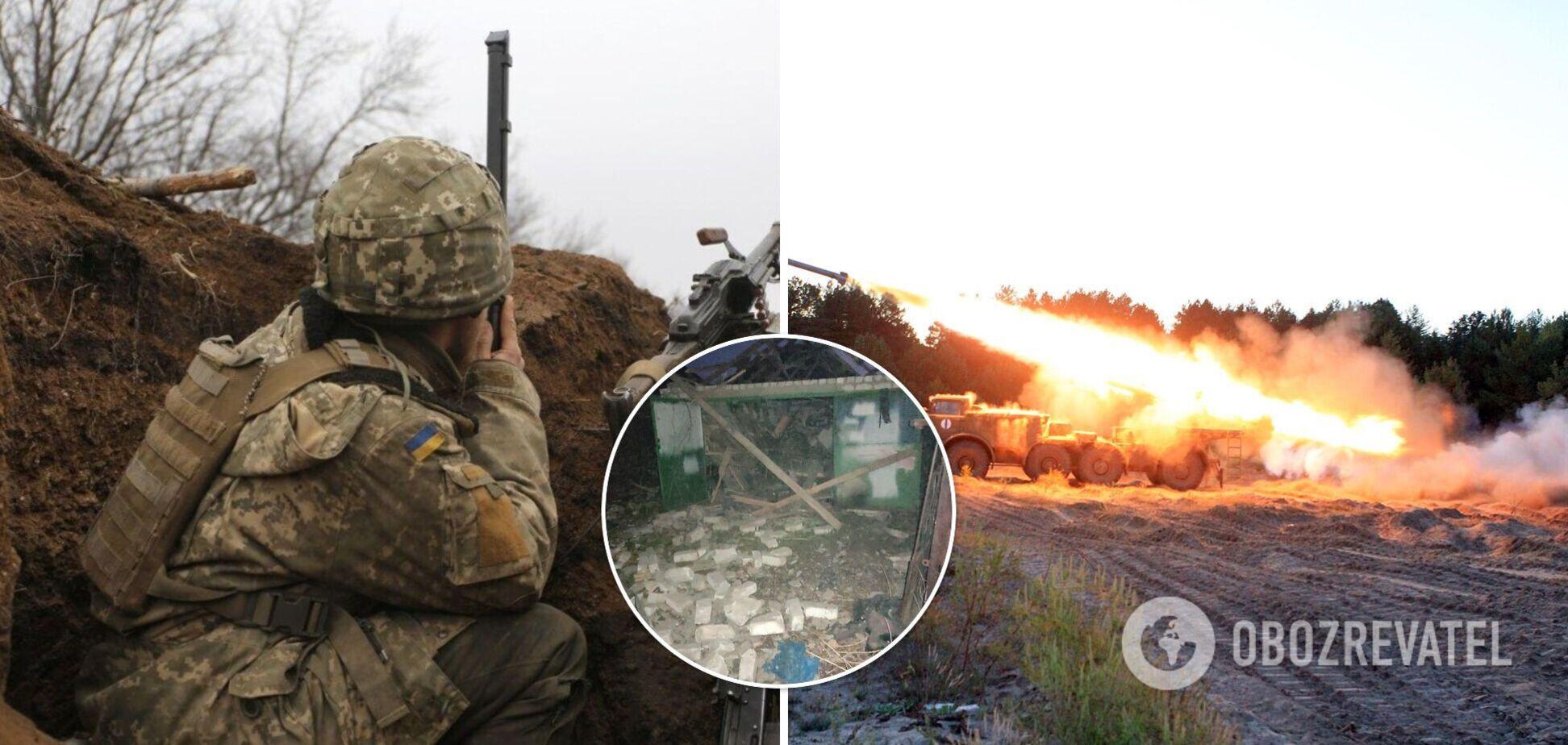 Окупанти обстріляли будинки мирних жителів на Донбасі: випустили близько 20 снарядів, є руйнування. Фото