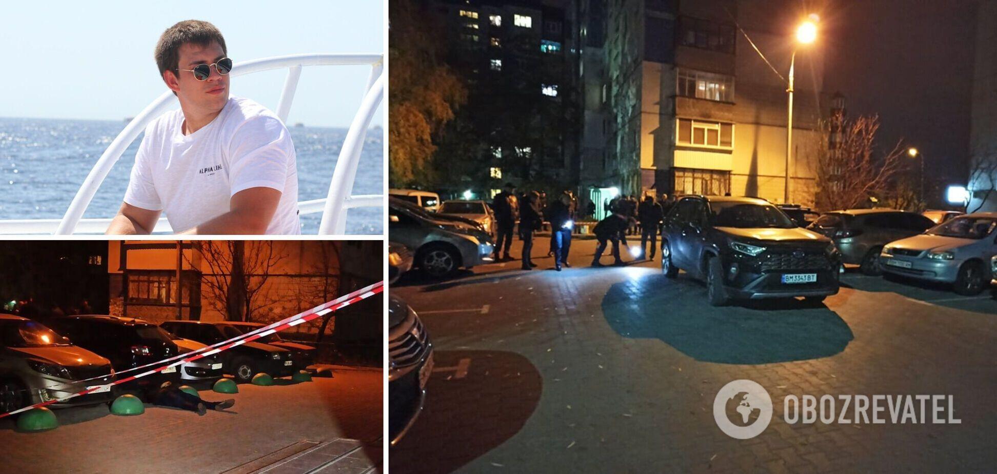 В Сумах застрелили одного из лидеров местной ячейки ''Правого сектора'': в полиции озвучили две версии. Фото
