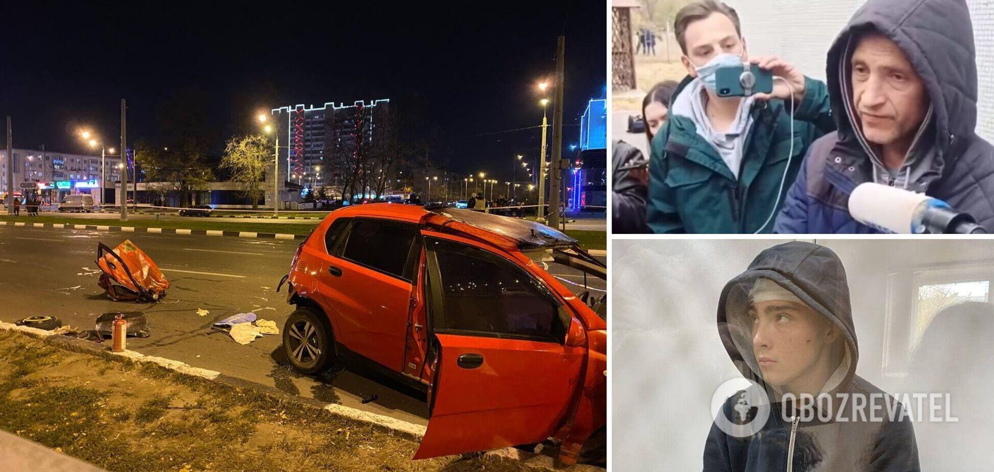 Батько винуватця ДТП у Харкові заявив, що йому пропонували 'відкупитися', і показав листування. Відео