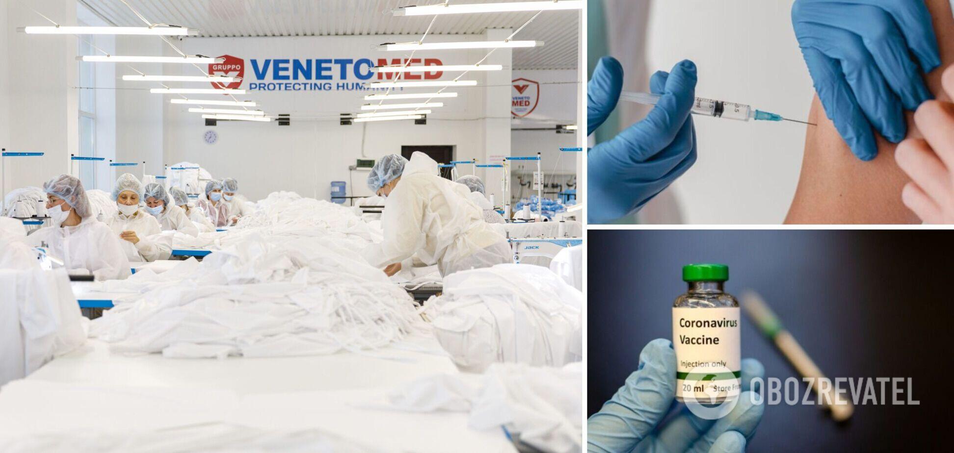Компания 'Венето' полностью провакцинировала своих сотрудников от гриппа и коронавируса