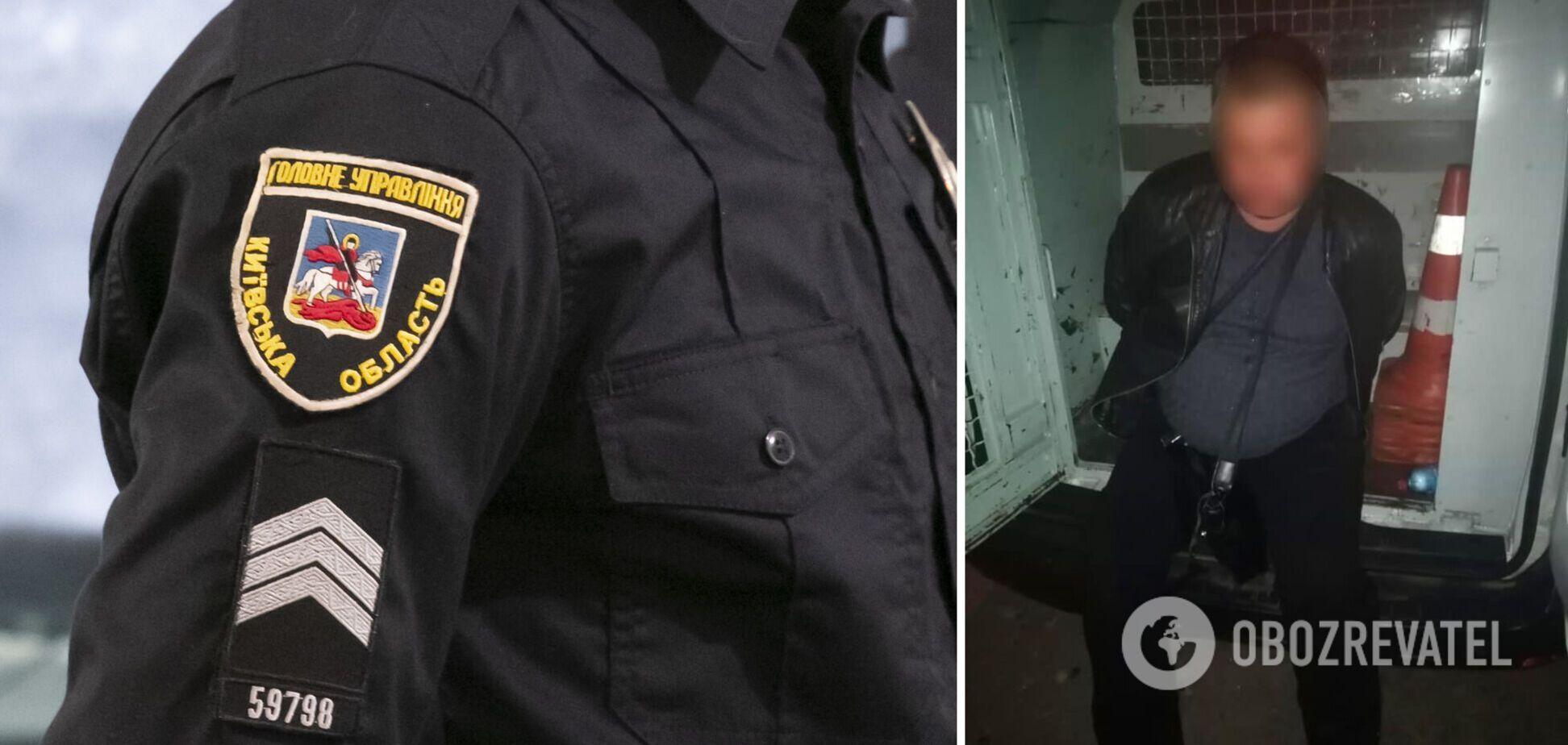 Зловмисника оперативно затримали правоохоронці