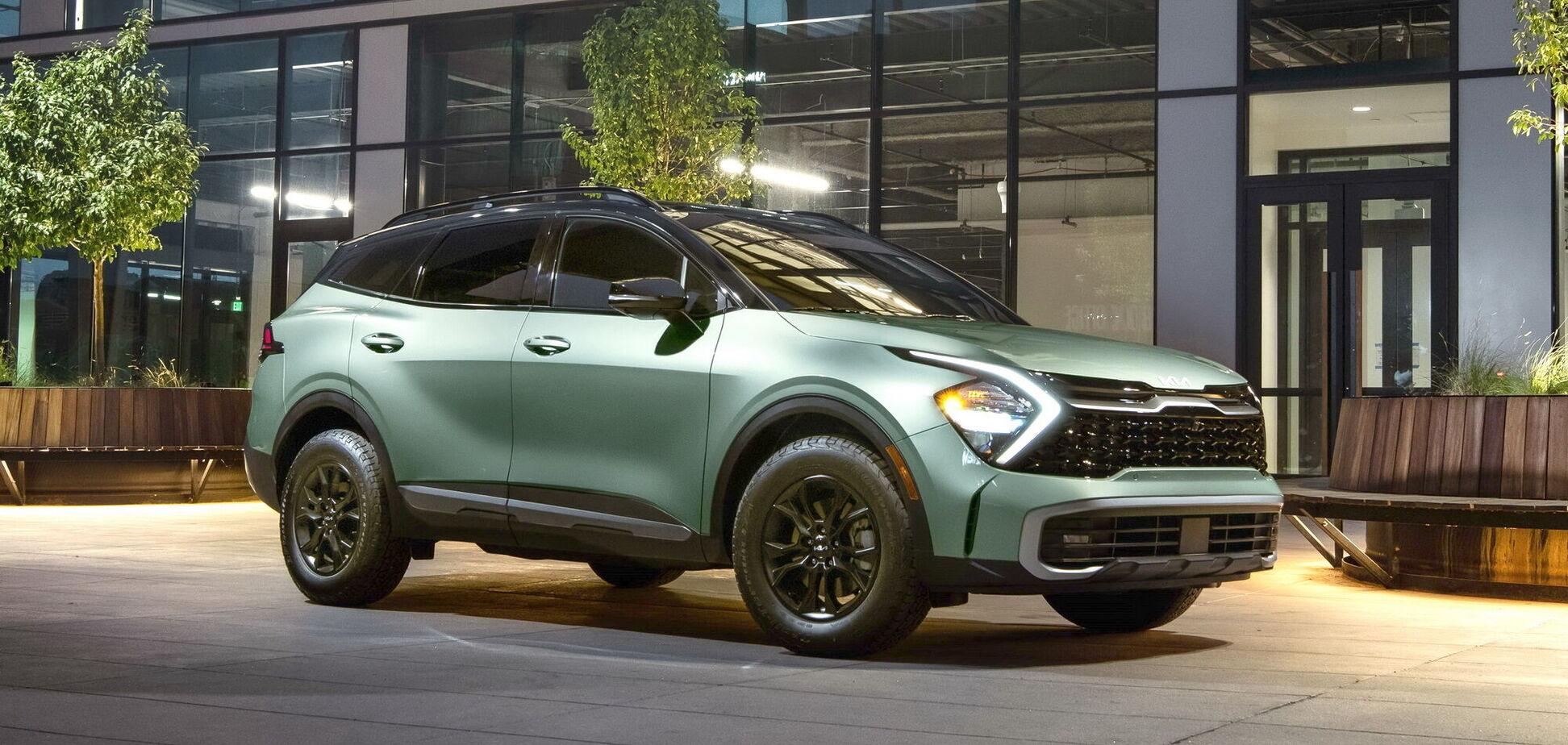 Kia втретє представив новий Sportage
