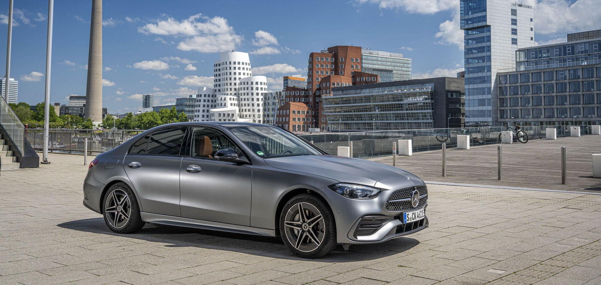 Mercedes-Benz C-Class получил новую гибридную версию