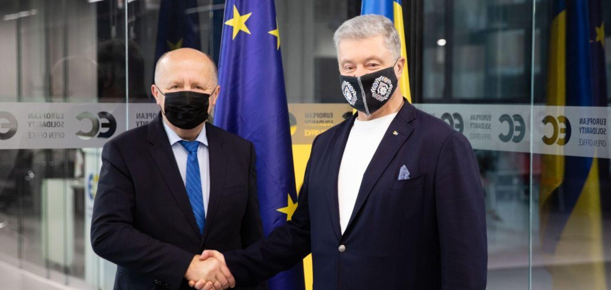 'Зима російського реваншу': Порошенко обговорив з Головою Делегації Європарламенту Кубіліусом ризики енергетичного шантажу Кремля