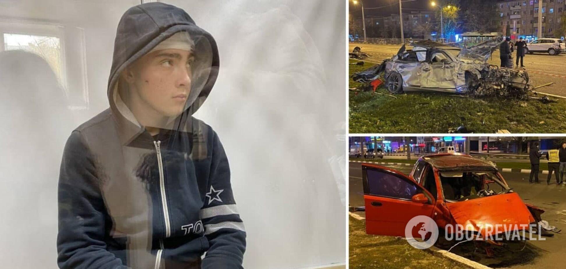 16-летнему виновнику ДТП в Харькове могут добавить срок из-за непогашенной судимости