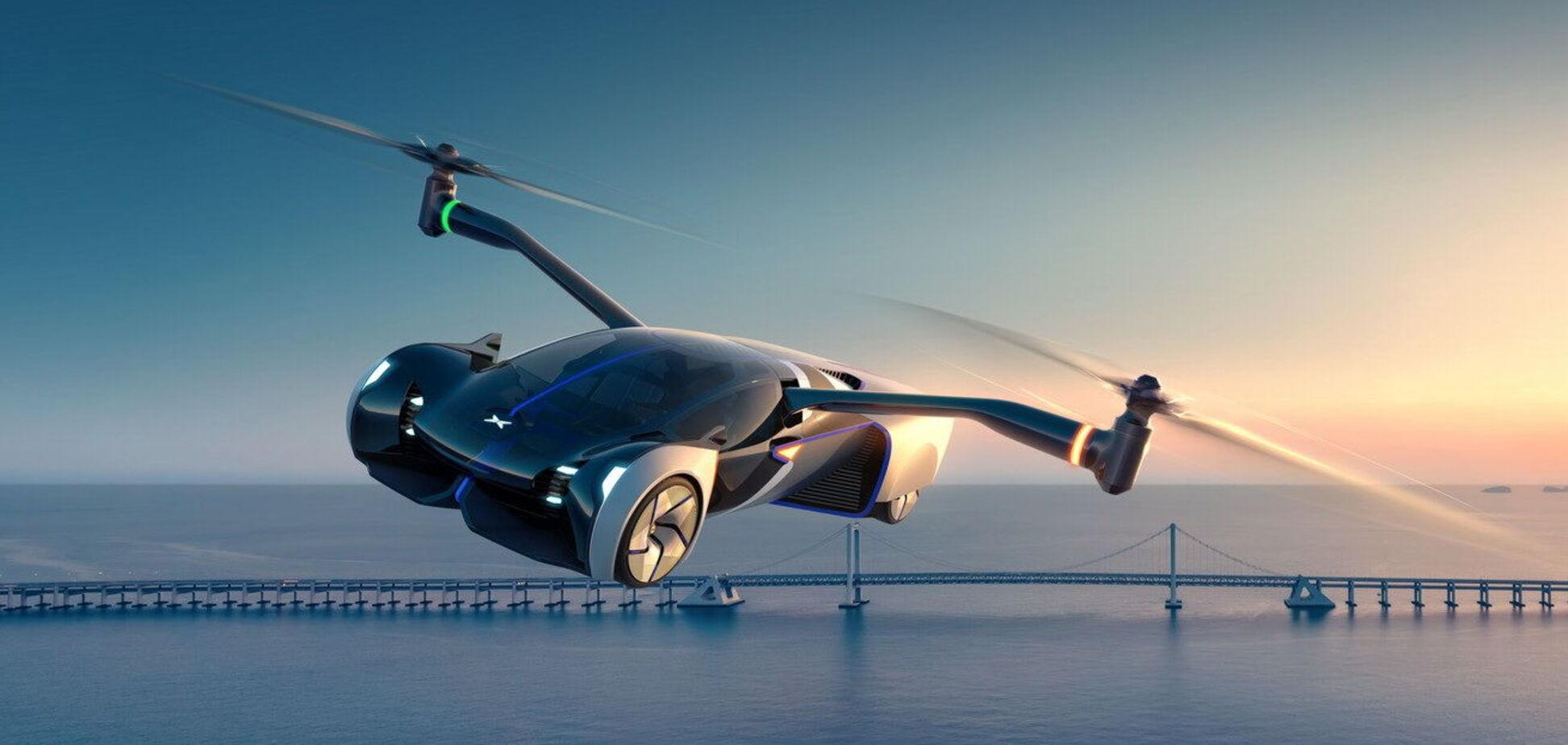 Китайський XPeng представив летючий автомобіль