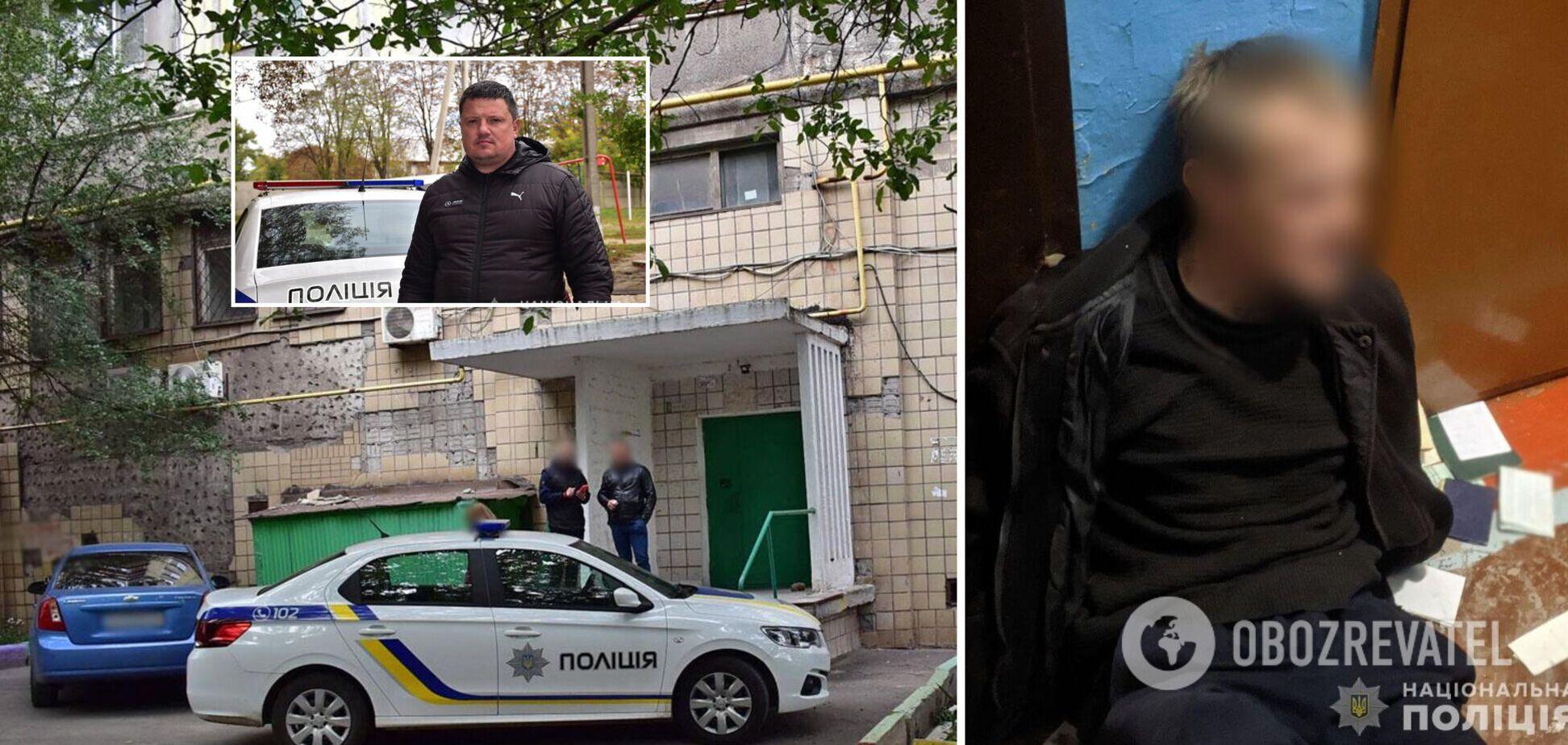 У Маріуполі чоловік зарізав знайомого та забарикадувався із донькою у підвалі: у поліції розповіли про гучне затримання