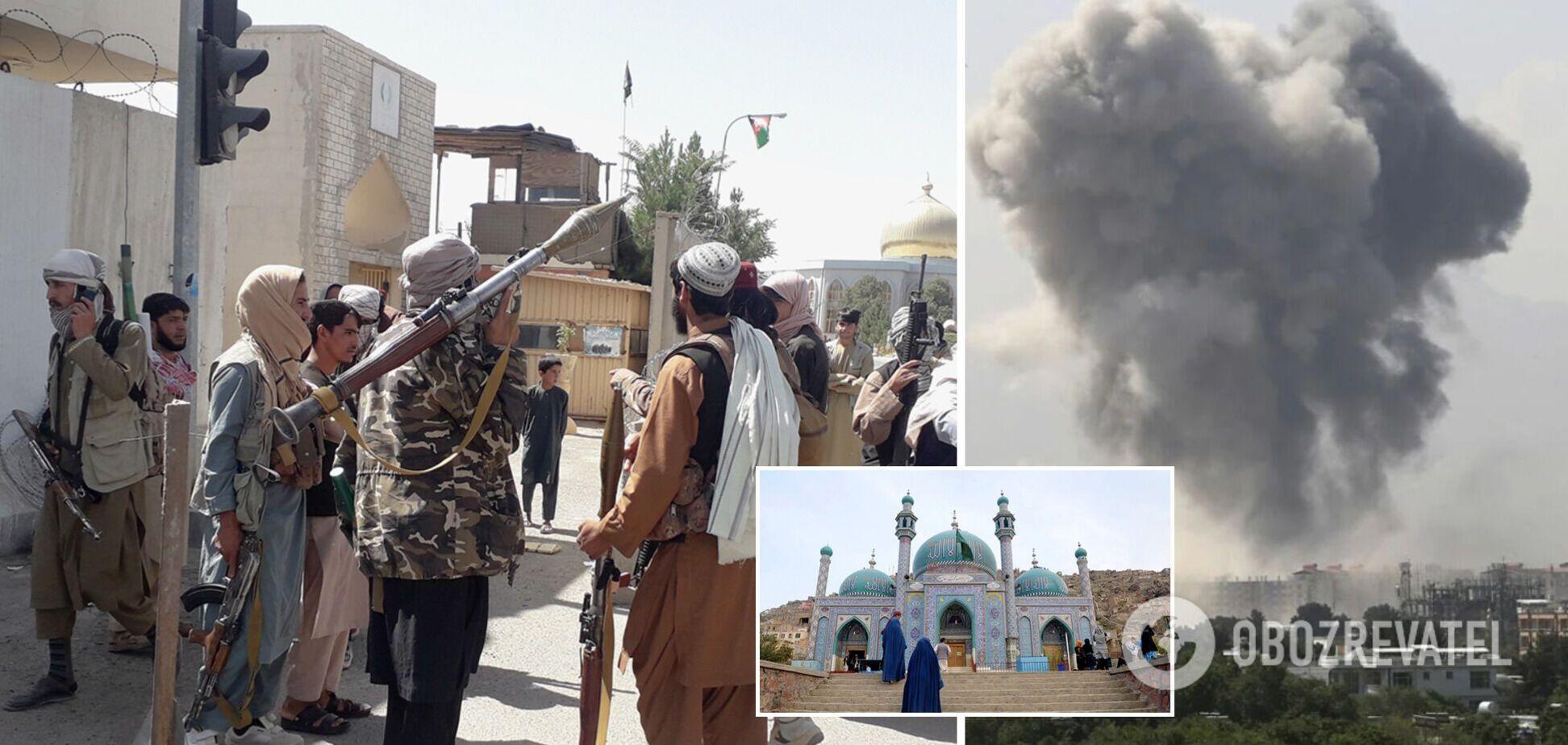 У Кабулі прогримів потужний вибух біля мечеті: є загиблі та поранені