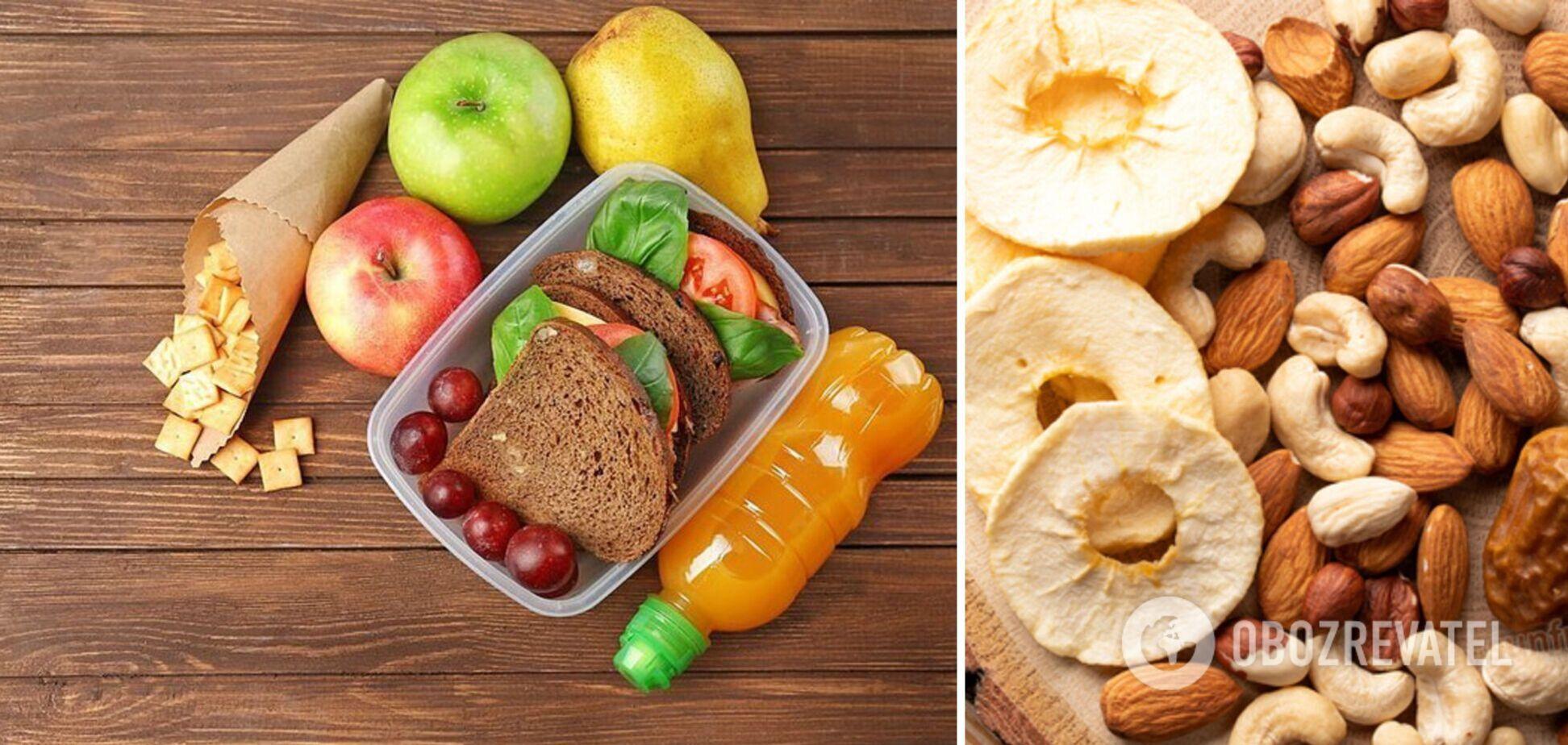 Що дати дитині в школу для перекусу, крім бутерброду