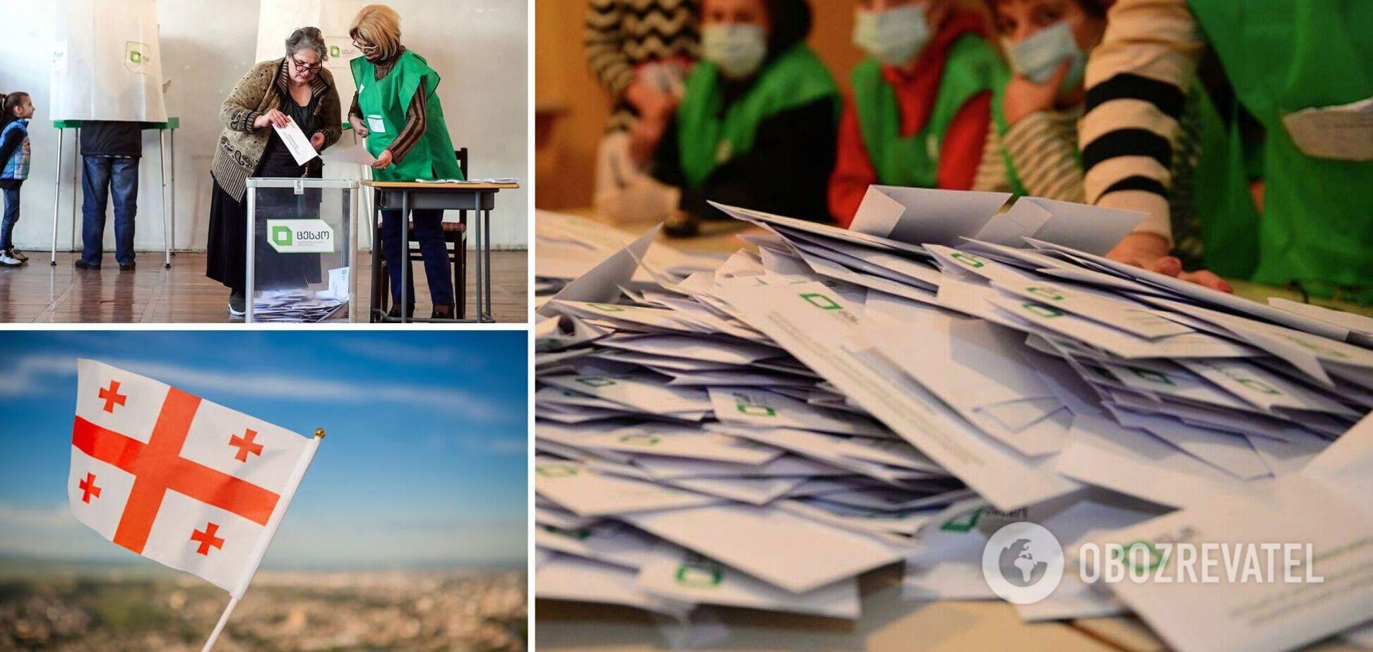 У Грузії оприлюднили результати виборів: у п'яти містах пройде другий тур